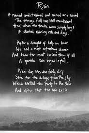 wedding quotes rainy day on your wedding day poem wedding ideas