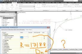 degree of curvature autodesk community