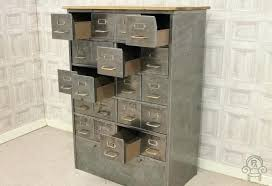 Vintage Metal File Cabinet Vintage Industrial Filing Cabinet Industrial Stripped Metal 2