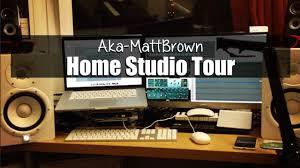 Home Recording Studio Desk by My Home Recording Studio Tour Aka Mattbrown Youtube