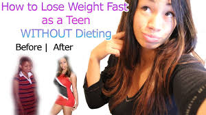 how to lose weight fast for teenagers without dieting youtube
