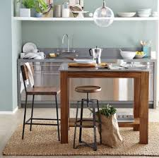 kitchen island table on wheels top 53 fantastic kitchen work tables wood island on wheels narrow
