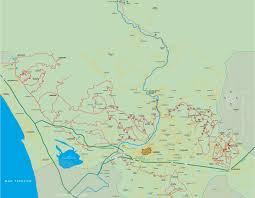 Monte Carlo Map Wine And Oil Route Strada Vino E Olio Lucca Montecarlo Versilia
