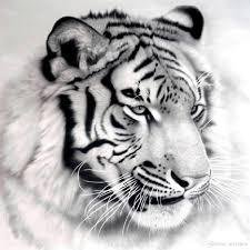 a1085 5d diamond embroidery home decor cross stitch tiger head 100