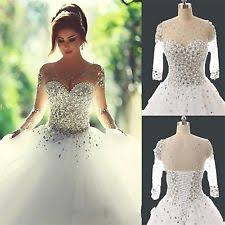white wedding dress gown duchess wedding dress ebay