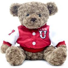 teddy valentines day s day 12 5 teddy plush with varsity jacket