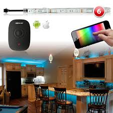 Led Light Strips For Home by Led Smart Home Party Ambient Lighting Kit Ios Android Million