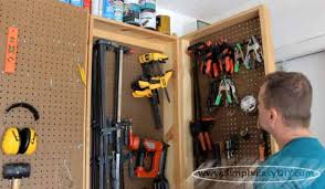 Wood Clamp Storage Rack Plans by Simply Easy Diy Diy Clamp Rack Wall Mounted Swing Out Design