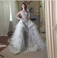 Custom Made Wedding Dresses Uk Custom Made Detachable Skirt Wedding Dress Uk Free Uk Delivery