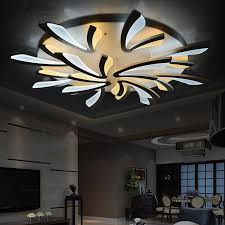 Acrylic Ceiling Light 2017 Led Acrylic Sitting Room Bedroom Lighting Remote