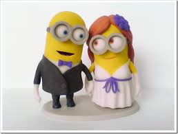 minions cake toppers marvelous minions wedding cake topper made with 3d printer