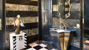 eclectic bathroom ideas bellagio decor ideas pinterest kelly wearstler powder room