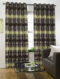 Lime Green Striped Curtains Hydrangea Green Ready Made Curtains A Bright And Colourful