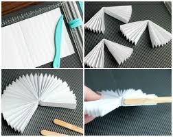 how to make a fan out of paper diy chinese new year fans