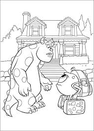 Kids N Fun Com 45 Coloring Pages Of Monsters University Coloring Pages Monsters