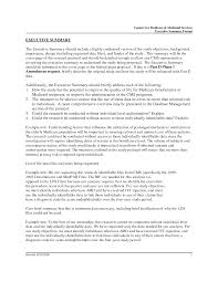Writing Apa Style Paper Example Executive Summary Format Two Page Cover Letter Sample