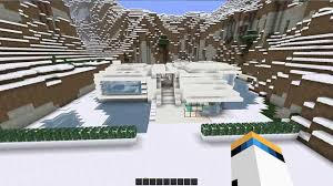 Winter Houses Minecraft Modern Winter House Hd Youtube