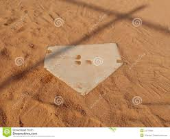 baseball home plate royalty free stock photo image 24777805