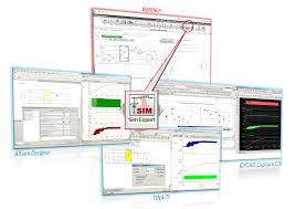 cad export for pcb layout schematics and simulations feature