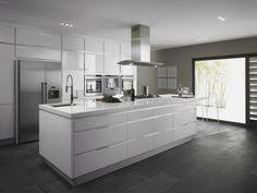 White Contemporary Kitchen - nolte kitchens kitchens glass and house