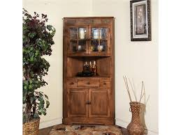 curio cabinet rustic corner curio cabinets with glass