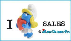 bluedwarfs complete smurf collection bluedwarfs