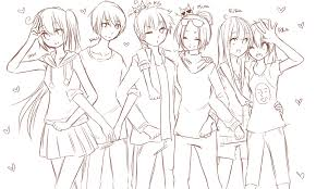 line art best friends ever by sasucchi95 on deviantart