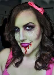 Halloween Female Makeup by Carolinacupcake Makeup Zombie Makeup Halloween Look 3