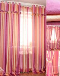 Pink And Orange Curtains Curtains And Drapes Decorate The House With Beautiful