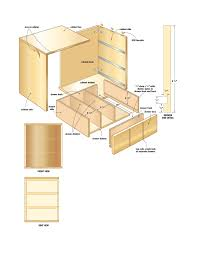 cabinet wood cabinet plans