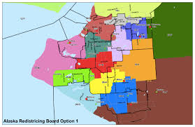 Map Of Anchorage Alaska by Alaska Redistricting Board Maps For Anchorage And Fairbanks