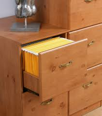 4 Drawer Filing Cabinet Wood by Teknik Office French Gardens 4 Drawer Filing Cabinet