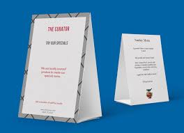 Tent Card Designs Tent Card Designs U0026 Printing Tent Cards For Restaurants Bars And