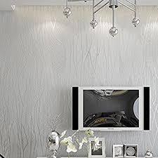 Bathroom Wallpaper Modern - homdox textured wallpaper modern non woven 3d wave pattern