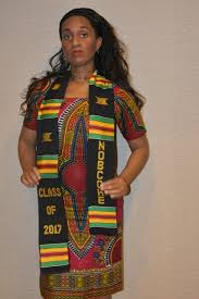 kente stole authentic woven nobbche graduation kente cloth stoles