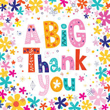 thank you e card a big thank you greeting card royalty free cliparts vectors and