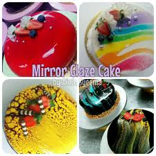 mirror glaze cake kekcawan com my