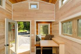 Furniture For Tiny Houses by Craftsman Style Tiny Home Featuring Cedar Siding And Reclaimed