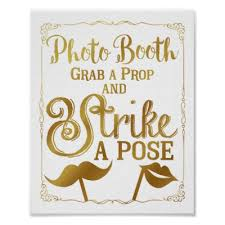 photo booth sign wedding selfie photo booth sign chalkboard zazzle