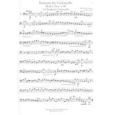 dotzauer friedrich exercises for the cello books 1 and 2