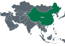 Population Map Of China by China Canpotex