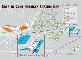 Syracuse Ny Map Disability Services Parking Lot Guide A Z