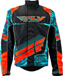 motorcycle racing jacket 122 40 fly racing mens snx wild snow jacket 2015 198907