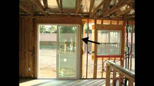 Framing Patio Door Load Transfers Around Windows And Doors Structural Engineering