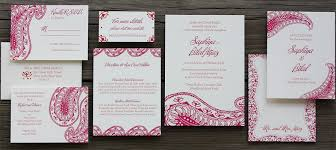 contemporary indian wedding invitations postscript