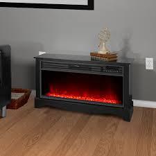lifesmart lifezone electric infrared media fireplace heater