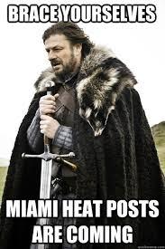 Miami Heat Memes - miami heat meme memes quickmeme