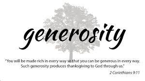 sermon generosity 10 22 17