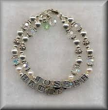 mothers bracelets of pearl designs handcrafted jewelry baby family and
