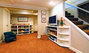 basement stone walls in finished basement ideas on a budget